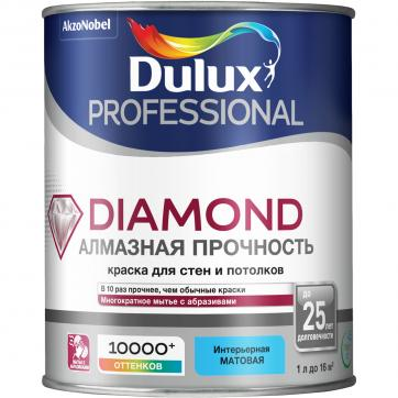 Краска Dulux Trade Diamond база BW 1 л