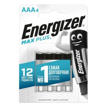 Батарейка алкалиновая Energizer Maximum AAA/LR03 4 шт. батарейки energizer c