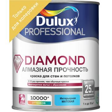 фото Краска dulux trade diamond matt bc 1 л