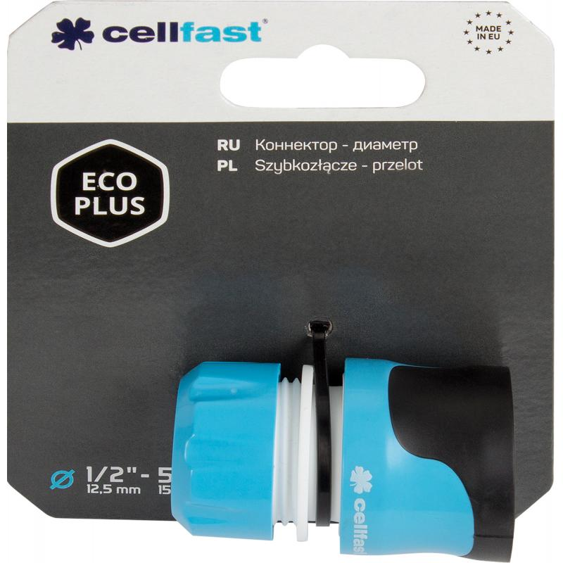 Коннектор Cellfast Eco Plus 1/2 дюйма